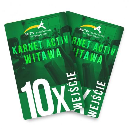 Karnet na 10 wejść