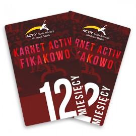 Karnet 12-miesięczny