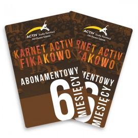 Karnet 6-miesięczny abonamentowy